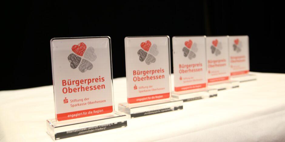 Jetzt für den Bürgerpreis Oberhessen bewerben!