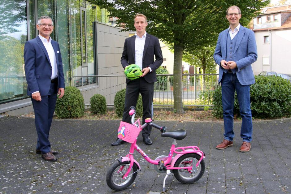 Sparkassen-Stiftung unterstützt Verkehrssicherheitstraining für Vorschulkinder