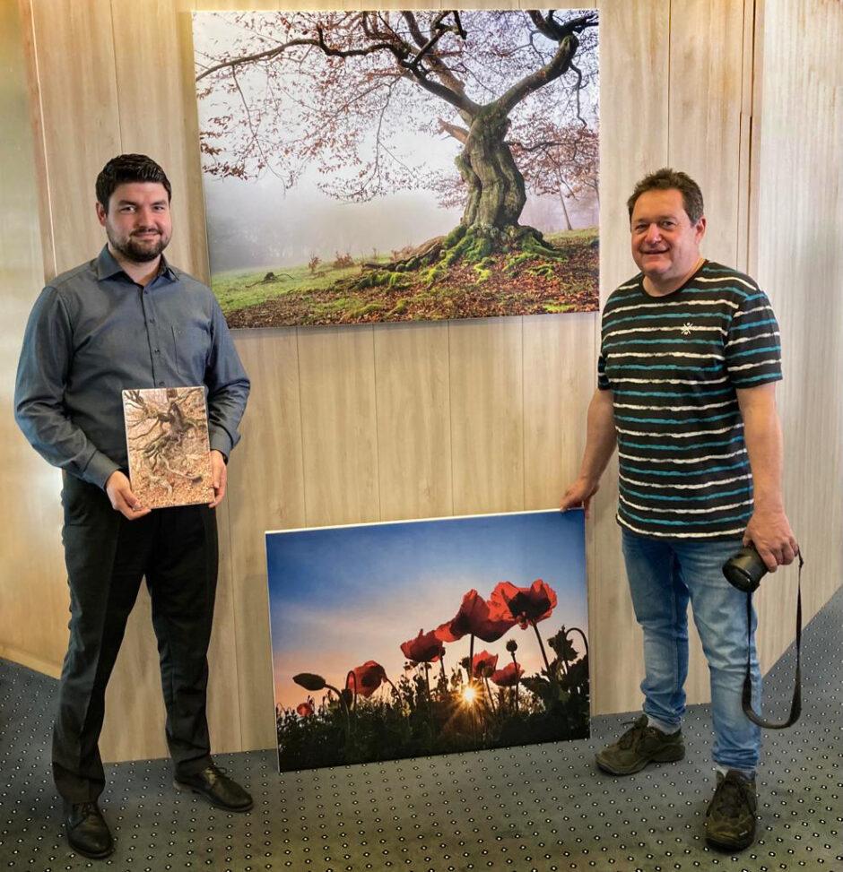 Neuer Sparkassen-Chef eröffnet Fotoausstellung in Homberg